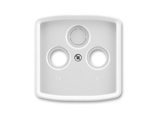 T- kryt zásuvky TV+R/SAT-vylam./ 5011A-A00300 S šedý