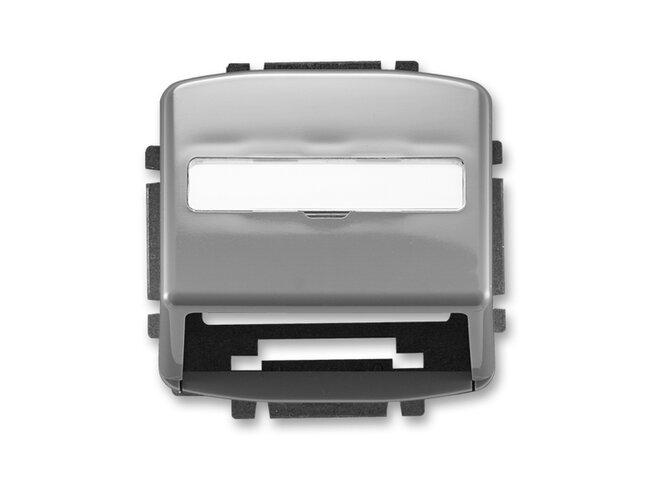 T- kryt datovej zásuvky 5014A-A100S2-dymový šedý