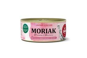Konzerva pre mačky Moriak 100g