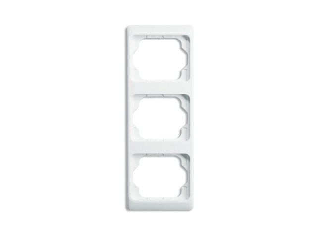 Alpha exclusive- rámček 3 zvislý 2CKA001754A3088 alabastrová