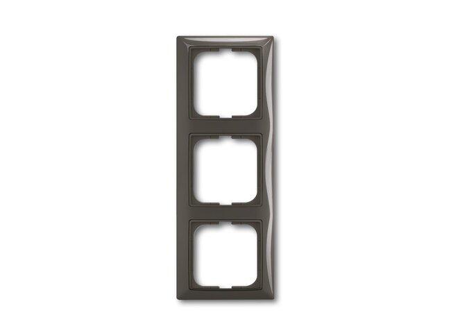 Basic55- rámček 3 grafitová šedá 1725-0-1508