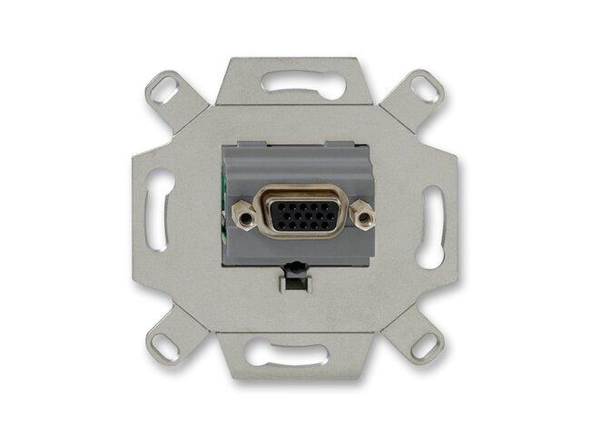 ABB- zásuvka komunikačná priama VGA, 2CKA000230A0426  šedá typ:0261/23-500