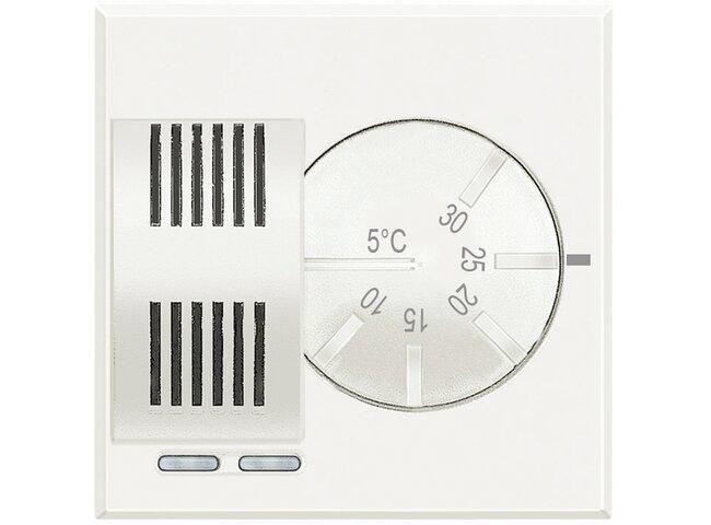 Axolute- termostat izbový 230v 2a 2M biely HD4441