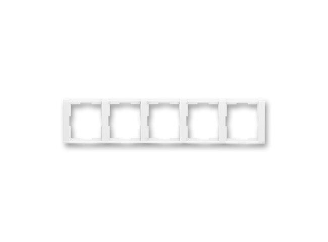 Time-rámček-5 vodorovný 3901F-A00150 03 biela/biela