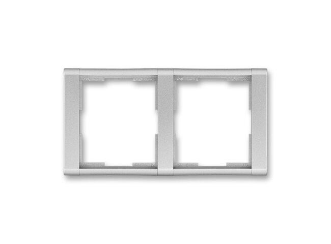 Time-rámček-2 vodorovná 3901F-A00120 08 titanová/titanová