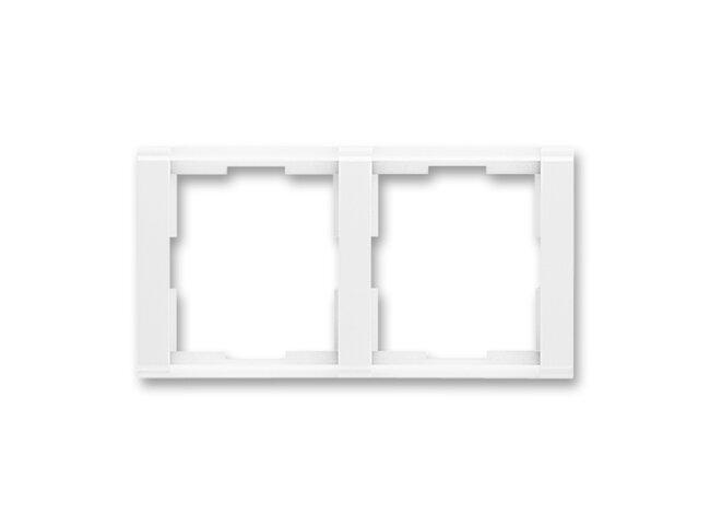 Time-rámček-2 vodorovná 3901F-A00120 03 biela/biela