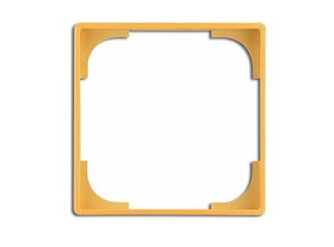 Basic55- medzirámček dekoratívny 1726-0-0226 žltá