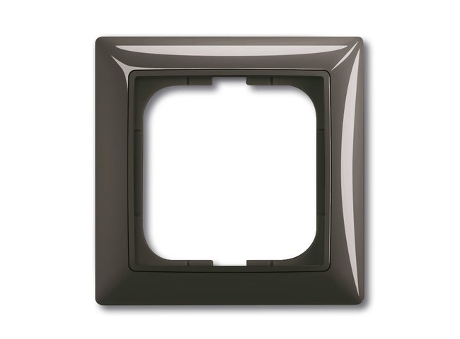 Basic55- rámček 1 grafitová šedá 1725-0-1506
