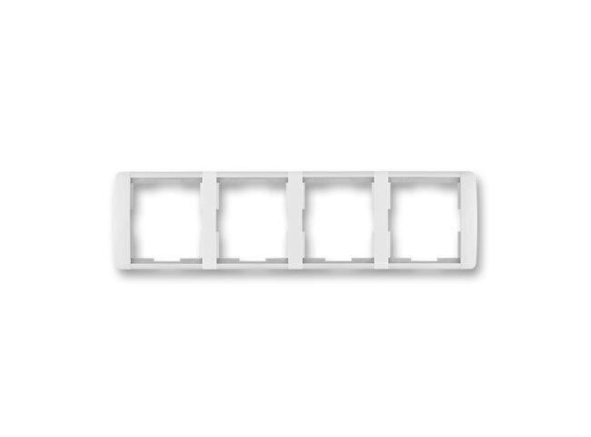 Element-rámček-4 vodorovný 3901E-A00140 01 biela/ľadová biela