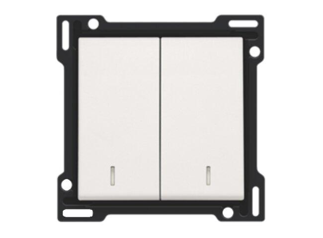 Niko kryt spínača č.5s,5Bs s okienkom WHITE 101-61507