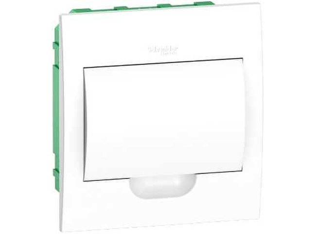 Skrinka   8M p.o. IP40 EZ9E108P2F biele dvere