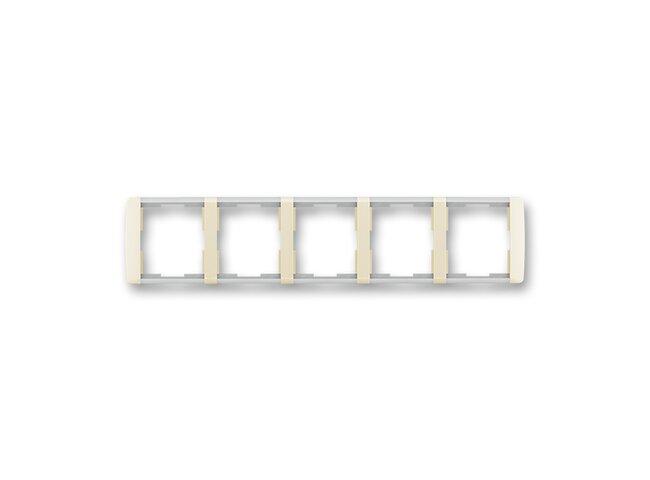 Element-rámček-5 vodorovný 3901E-A00150 21 slonová kosť/ľadovo biela