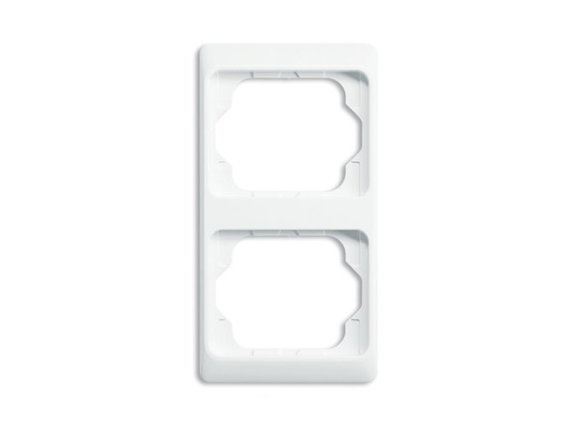 Alpha exclusive- rámček 2 zvislý 2CKA001754A3054 alabastrová