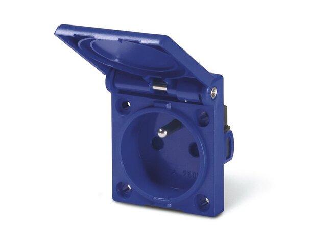 Zásuvka 250V/16A SC 570.2091 IP54 /50x60mm/