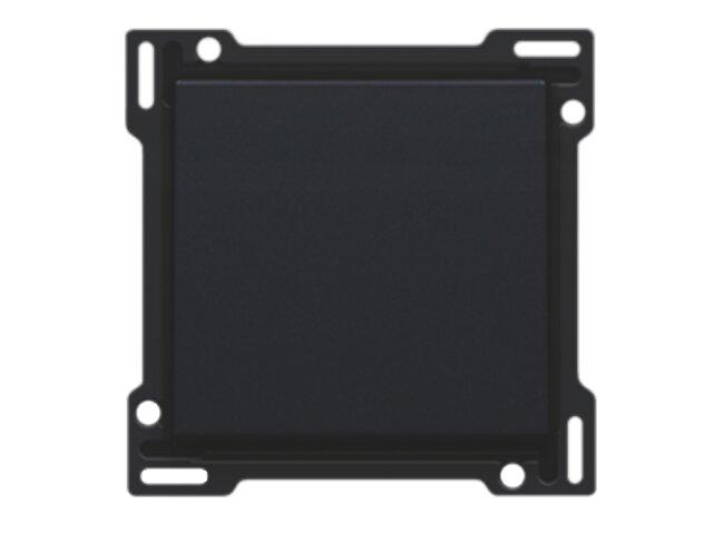 Niko kryt spínača č.1,6,7 BLACK COATED 161-61105