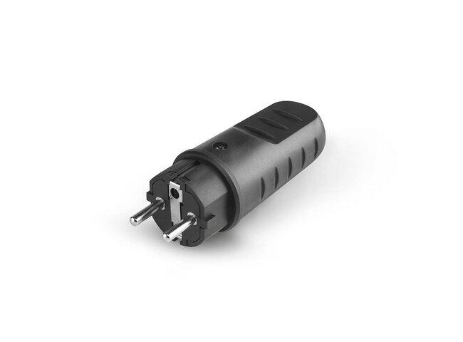 Vidlica 230V gumená SC-110.3100 IP44 16A