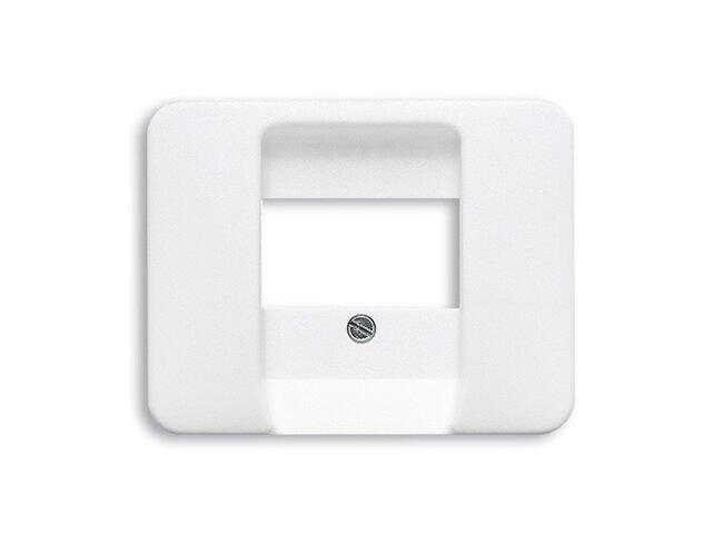 Alpha exclusive- kryt zásuvky reproduktorovej 2CKA001753A7743 alabastrová