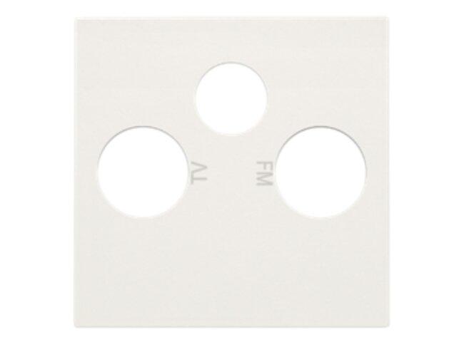 Niko kryt zásuvky TV+R+SAT WHITE 101-69551