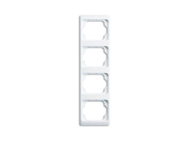 Alpha exclusive- rámček 4 zvislý 2CKA001754A4156 alabastrová