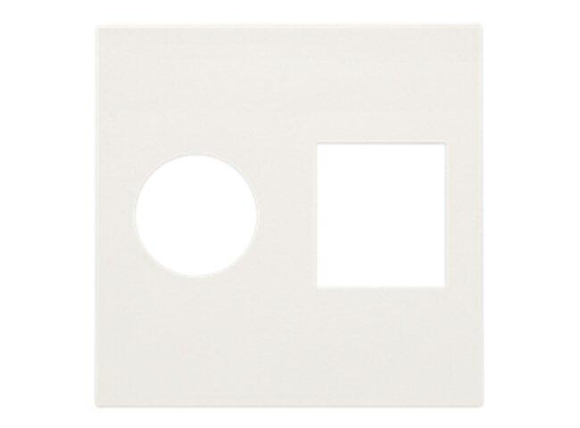 Niko kryt datazásuvky TV+RJ45 WHITE 101-65702