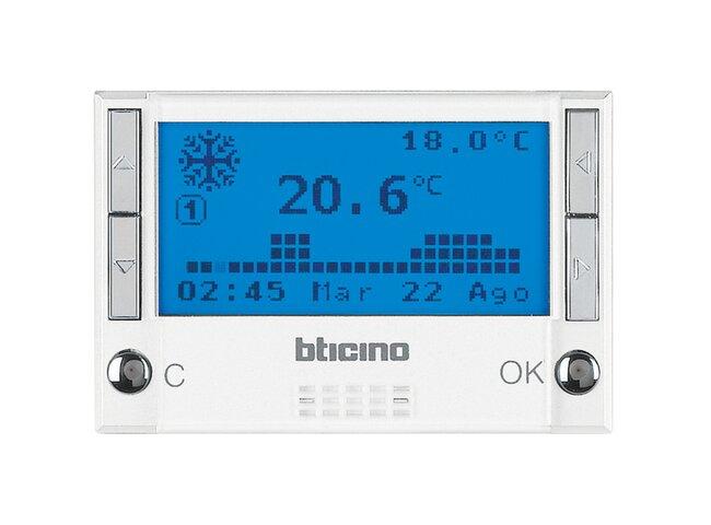 Axolute- termostat digitálny 1a 3M biely HD4451