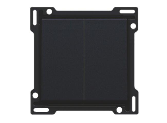 Niko kryt spínača č.5,5B BLACK COATED 161-61505