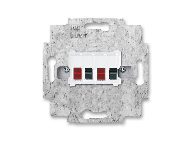 ABB- zásuvka reproduktorová 2CKA000230A0403, stereo, typ:0248/04-101