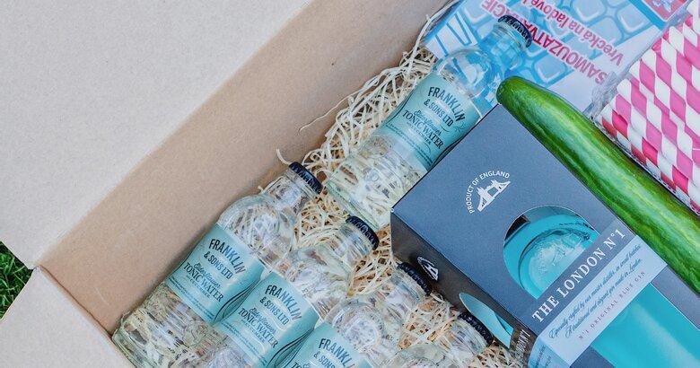 King gin box