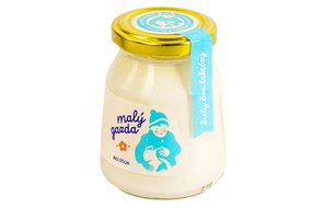 Jogurt Malý gazda bez éčiek bezlakt. biely 200g