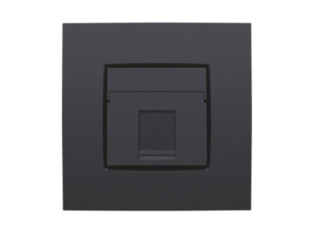 Niko kryt zásuvky DATA 1xRJ ANTHRACITE 122-65100