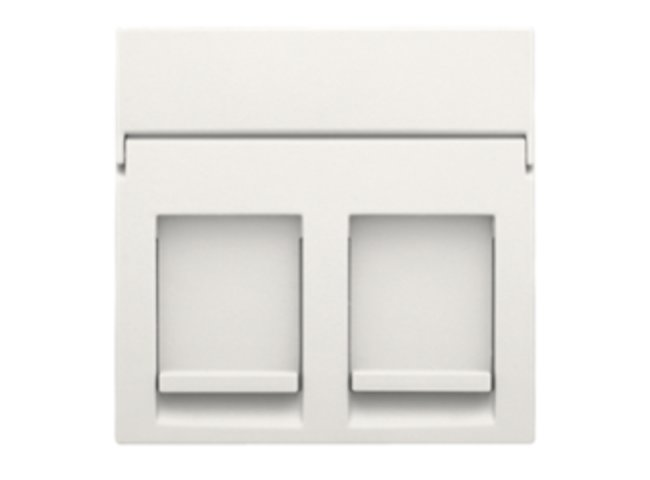 Niko kryt zásuvky DATA 2xRJ s krytom WHITE 101-65200