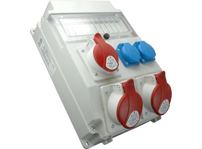 Rozvodnica 5P 2x32A,1x16A,2x250V ROS 11/x-11