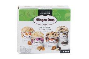 Häagen-Dazs - Zmrzlina Favorite selection 4 x 95 ml