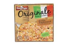 Don Peppe Originale pizza šunka a šampiňóny mrazená 375 g