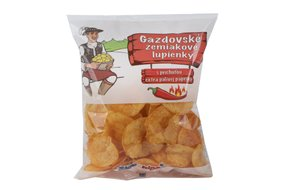 Gazdovské zemiakové lupienky pálivé 75 g