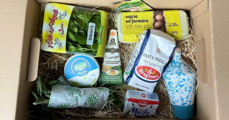 Ravioli box by Andrea Ena + Anfora