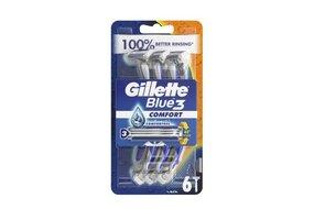 Pánske holiace strojčeky Gillette Blue 3 Comfort 6 ks 112-2