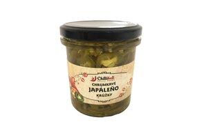 Chrumkavé Jalapeno (krúžky v sladkokyslom náleve) 300 ml