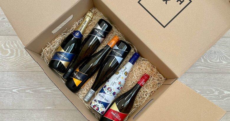 Wine box Chateau Grand Bari