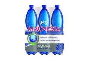 1x kartón - Magnesia neperlivá  1,5 l  6 ks
