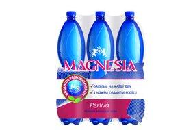 1x kartón - Magnesia perlivá 1,5 l  6 ks