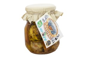 Sardínske artičoky s botargou v oleji 280 g 181-4