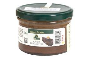 Čokoládový puding s vajcom a amareti sušienkami (Bonet Piemontese) 180 g 216-5