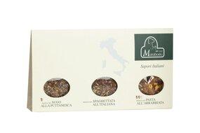 Zmes korenín (Pasta All´ Arrabbiata, Spaghettata All ´Italiana, Sugo Alla Puttanesca) 3 x 30 g