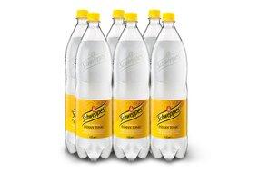 1x kartón - Schweppes tonic 1,5 l   6 ks