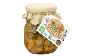 Sardínska nakladaná zelenina v oleji 280 g 182-2
