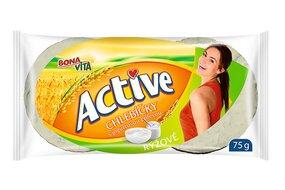 ACTIVE Ryžové chlebíčky s jogurtovou polevou 75 g