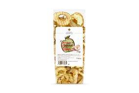 Sušené jablká vrúbkované chipsy 75 g