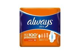 Always Ultra  Normal dámske hygienické vložky 10 ks