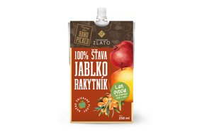 Jablko-rakytníková šťava 250 ml